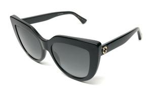 GUCCI GG0164S 001 Black Grey Gradient Women's Sunglasses 53mm