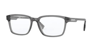 BURBERRY BE2308 3801 Transparent Grey Rectangle Men's 53 mm Eyeglasses