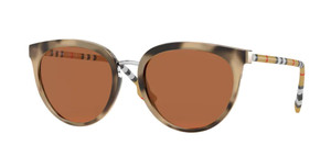 BURBERRY BE4316 388773 Havana Cat Eye Women's Sunglasses 54 mm