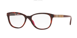 BURBERRY BE2172 3657 Bordeaux Square Women's 52 mm Eyeglasses