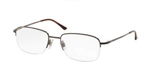 Ralph Lauren Polo PH1001 9011 Brown Square Men's 53 mm Eyeglasses
