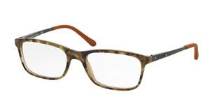 Ralph Lauren RL6134 5427 Camouflage On Olive Rectangle Men's 53 mm Eyeglasses