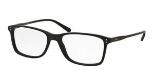 Ralph Lauren Polo PH2155 5284 Matte Black Rectangle Square Men's 54 mm Eyeglasses