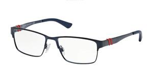 Ralph Lauren Polo PH1147 9119 Navy Blue Rectangle Men's 54 mm Eyeglasses
