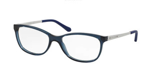 Ralph Lauren RL6135 5276 Shiny Blue Rectangle Women's 54 mm Eyeglasses