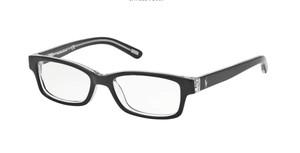 Ralph Lauren Polo PP8518 541 Shiny Black Rectangle Men's 46 mm Eyeglasses