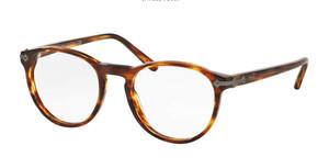 Ralph Lauren Polo PH2150 5007 Shiny Havana Round Men's 47 mm Eyeglasses