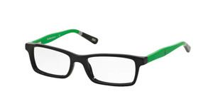 Ralph Lauren Polo PP8523 1312 Shiny Black Rectangle Kid's 47 mm Eyeglasses