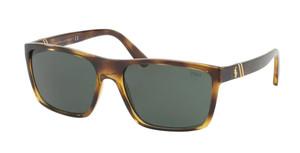 Ralph Lauren Polo PH4133 500371 Dark Havana Rectangle Square Men's 59 mm Sunglasses