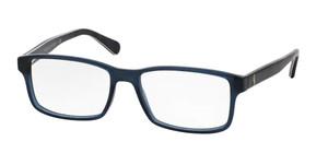 Ralph Lauren Polo PH2123 5498 Vintage Blue Rectangle Men's 54 mm Eyeglasses