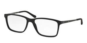 Ralph Lauren RL6133 5001 Black Rectangle Men's 54 mm Eyeglasses