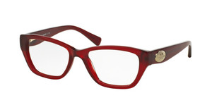 COACH HC6070 5029 Burgundy Cat Eye Rectangle Women's 51 mm Eyeglasses