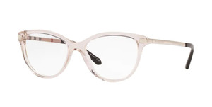 BURBERRY BE2280 3780 Transparent Square Women's 52 mm Eyeglasses