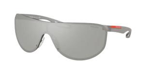 PRADA SPS 61U 2B0-2B0 Gunmetal Rubber Pilot Men's 40 mm Sunglasses