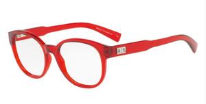 ARMANI EXCHANGE AX3040F 8209 Watermelon Round Women's 53 mm Eyeglasses