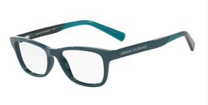 ARMANI EXCHANGE AX3030 8188 Deep Pond Cat Eye Women's 52 mm Eyeglasses