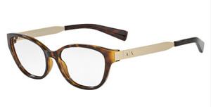 ARMANI EXCHANGE AX3033F 8037 Tortoise Cat Eye Women's 54 mm Eyeglasses