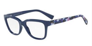 ARMANI EXCHANGE AX3036 8193 Blue Square Women's 53 mm Eyeglasses