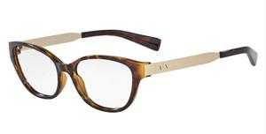 ARMANI EXCHANGE AX3033 8037 Tortoise Cat Eye Women's 54 mm Eyeglasses