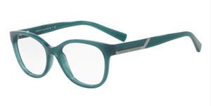 ARMANI EXCHANGE AX3032 8190 Green Round Women's 53 mm Eyeglasses