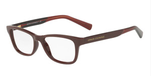 ARMANI EXCHANGE AX3030 8118 Burgundy Cat Eye Women's 52 mm Eyeglasses