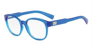 ARMANI EXCHANGE AX3040F 8210 Light Blue Round Women's 53 mm Eyeglasses