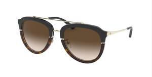 TORY BURCH TY6072 178413 Black Pilot Women's 52 mm Sunglasses