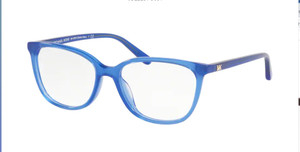 MICHAEL KORS MK4067U 3710 Navy Blue Square Women's 53 mm Eyeglasses