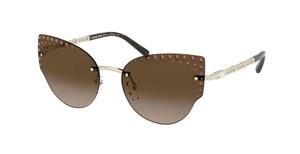MICHAEL KORS MK1058B 101413 Light Gold Cat Eye Women's 57 mm Sunglasses
