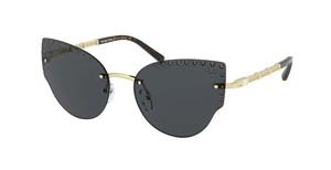 MICHAEL KORS MK1058B 101487 Light Gold Cat Eye 57 mm Sunglasses