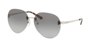 MICHAEL KORS MK1037 115311 Silver Pilot Women's 60 mm Sunglasses