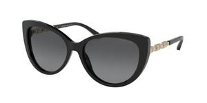 MICHAEL KORS MK2092 300511 Black Cat Eye Women's 56 mm Sunglasses