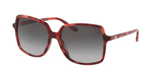 MICHAEL KORS MK2098U 38218G Red Tortoise Square Women's 56 mm Sunglasses