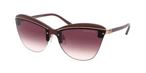 MICHAEL KORS MK2113 38138H Dark Brandy Women's Cat Eye 66 mm Sunglasses