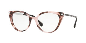 VALENTINO VA3040 5067 Pink Havana Cat Eye Women's 51 mm Eyeglasses