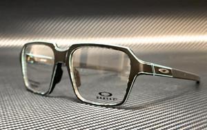 OAKLEY OX8154 0254 Miter Satin Square Men's 54 mm Eyeglasses