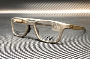 OAKLEY OX8113 0253 Satin Pavement Square Rectangle 53 mm Men's Eyeglasses