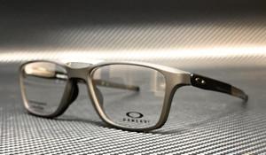 OAKLEY OX8113 0155 Satin Black Square Rectangle Men's 55 mm Eyeglasses