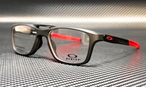 OAKLEY OX8113 0453 Satin Black Square Rectangle Men's 53 mm Eyeglasses