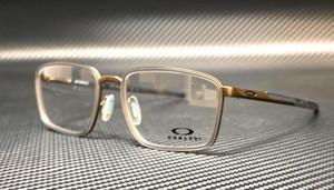 OAKLEY OX3235 0254 Pewter Rectangle Square Men's 54 mm Eyeglasses