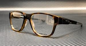 OAKLEY OX8094 0253 Havana Square Rectangle Men's 53 mm Eyeglasses