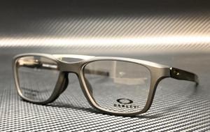 OAKLEY OX8113 0153 Satin Black Square Rectangle Men's 53 mm Eyeglasses