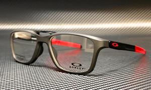 OAKLEY OX8113 0455 Satin Black Rectangle Men's 55 mm Eyeglasses