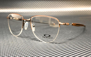 OAKLEY OX5142 0352 Satin Toast Round Men's 52 mm Eyeglasses