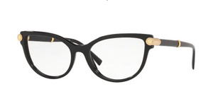 VERSACE VE3270QA GB1 Black Cat Eye Women's 54 mm Eyeglasses