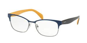 PRADA VPR 65R 281-1O1 Blue Rectangle Women's 55 mm Eyeglasses
