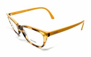 Prada VPR 13V 474-1O1 Havana/Yellow Women's Authentic Eyeglasses Frame 51mm