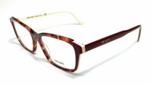Prada VPR 01VF CDK-1O1 Burgundy Women's Authentic Eyeglasses Frame 55 mm