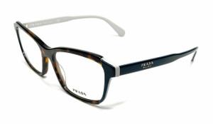Prada VPR 01VF W3C-1O1 Havana Women's Authentic Eyeglasses Frame 55 mm