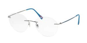 PRADA VPS 52I 7CQ-1O1 Matte Gunmetal Round Men's 52 mm Eyeglasses